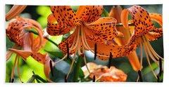 Tiger Lilies Hand Towel