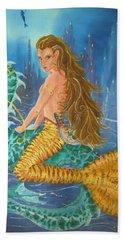 Tiger Lily Tails Bath Towel