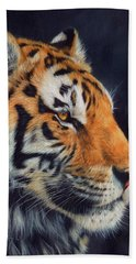 Tiger Profile Hand Towel