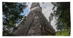 Tikal Pyramid 1b Bath Towel