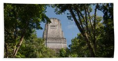 Tikal Pyramid 4b Bath Towel