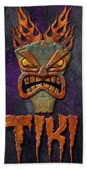 Tiki Hand Towel by WB Johnston