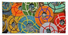 Tiled Swirls Hand Towel