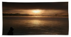 Timothy Lake Mysterious Sunrise 2 Hand Towel