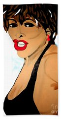 Tina Turner Fierce 3 Bath Towel