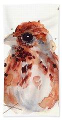 Tiny Sparrow Hand Towel