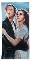 Titanic Jack And Rose Hand Towel