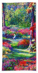Ruby Falls Bath Towels