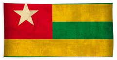 Togo Flag Vintage Distressed Finish Bath Towel