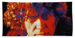 Tom Baker Bath Towel