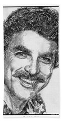 Tom Selleck In 1984 Hand Towel