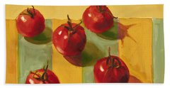 Tomatoes Hand Towel by Cathy Locke