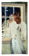 Too Cold For Angels Bath Towel