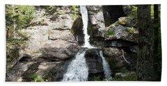 Top Of Kent Falls Bath Towel