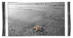 Topsail Island The Lone Star Hand Towel