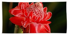Torch Ginger Bath Towel