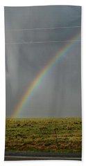 Tornado And The Rainbow Bath Towel