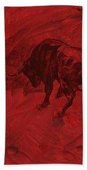 Toro Painting Hand Towel