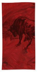 Toro Painting Bath Towel