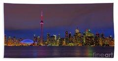 Toronto By Night... Bath Towel