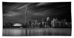 Toronto Skyline - 8 Minutes In Toronto Hand Towel