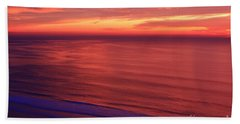 Hand Towel featuring the photograph Torrey Pines Twilight by John F Tsumas