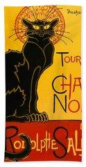Tournee Du Chat Noir Bath Towel