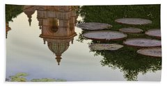 Bath Towel featuring the photograph Tower In Lotus Position by Gary Holmes