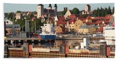 Town Harbour Hand Towel