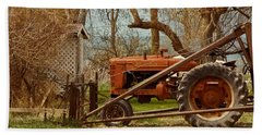 Tractor On Us 285 Hand Towel