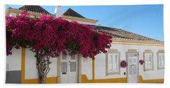 Traditional House Of Tavira. Portugal Hand Towel