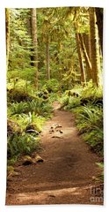 Trail Through The Rainforest Hand Towel