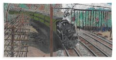 Train 641 Hand Towel