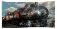Train - Engine - 6 Nw Class G Steam Locomotive 4-6-0  Hand Towel