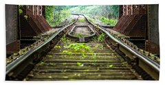 Train Trestle 2 Bath Towel