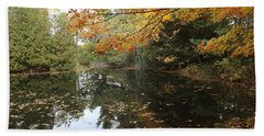 Bath Towel featuring the photograph Tranquil Getaway by Brenda Brown