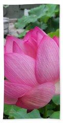 Tranquil Lotus  Bath Towel