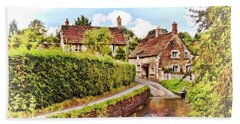 Tranquil Stream Lacock Hand Towel