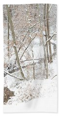 Tranquil Winters Creek Hand Towel