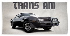 Trans Am Bath Towel by Douglas Pittman