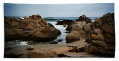 Transcend - Monterey, California Hand Towel