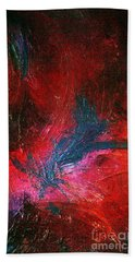 Hand Towel featuring the painting Transformation by Jacqueline McReynolds