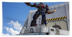 Transformers The Ride 3d Universal Studios Hand Towel