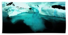 Bath Towel featuring the photograph Transparent Iceberg by Amanda Stadther
