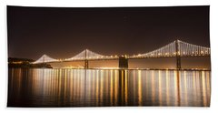 Treasure Island Bay Lights Hand Towel