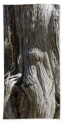 Tree Bark No. 3 Hand Towel by Lynn Palmer