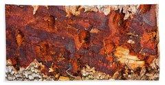 Tree Closeup - Wood Texture Hand Towel
