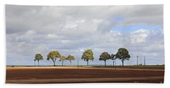 Tree Line France Hand Towel