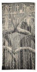Tree Of Life Dohany Street Synagogue Hand Towel