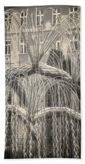 Tree Of Life Dohany Street Synagogue Hand Towel